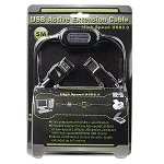 16' USB 2.0 Active Extension Cable (Black)
