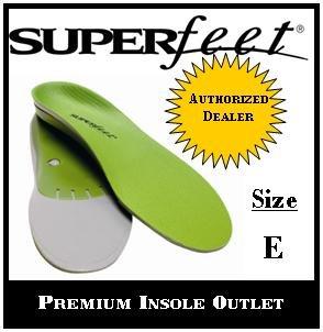 Superfeet Green Insole Size E
