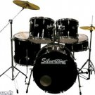 Silvertone SDK5 Complete 5-Piece Drum Kit