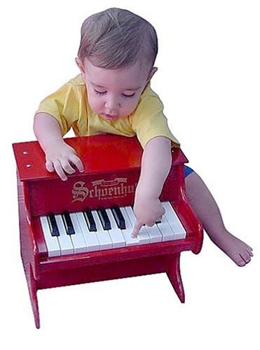 My First 18-Key Tabletop Piano *** Schoenhut Piano Co. Inc