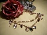 Gold Charm Necklace-75089