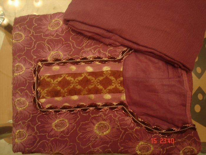 T-392: Georgette Semi Stitched Salwar Kameez