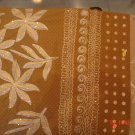 T-369: Light Brown Salwar Kameez with floral design and thread work