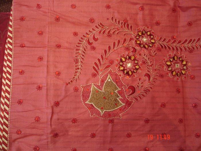 T-310: Red Salwar Kameez