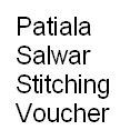 Patiala Style Salwar Stitching Voucher