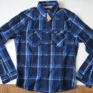 J858 New Men shirt HOLLISTER Size M Rivets