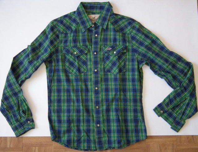 J923 New Men shirt HOLLISTER Size M