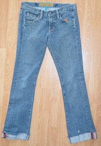 N100 Womens jeans ARCH INDIGO Size 28 30x29 Made in USA