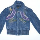 M725 Girls jean jacket ROCAWEAR Size 4