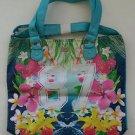 New Women's Handbag AEROPOSTALE Logo Floral Tote