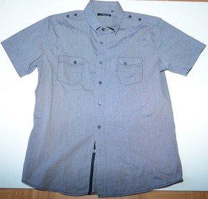 L679 Men shirt RED LEVEL NINE Size S