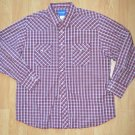 N041 Men's shirt WRANGLER Size 2XL Great Condition