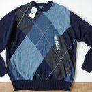 J429 New Mens sweater DOCKERS Size L Crewneck