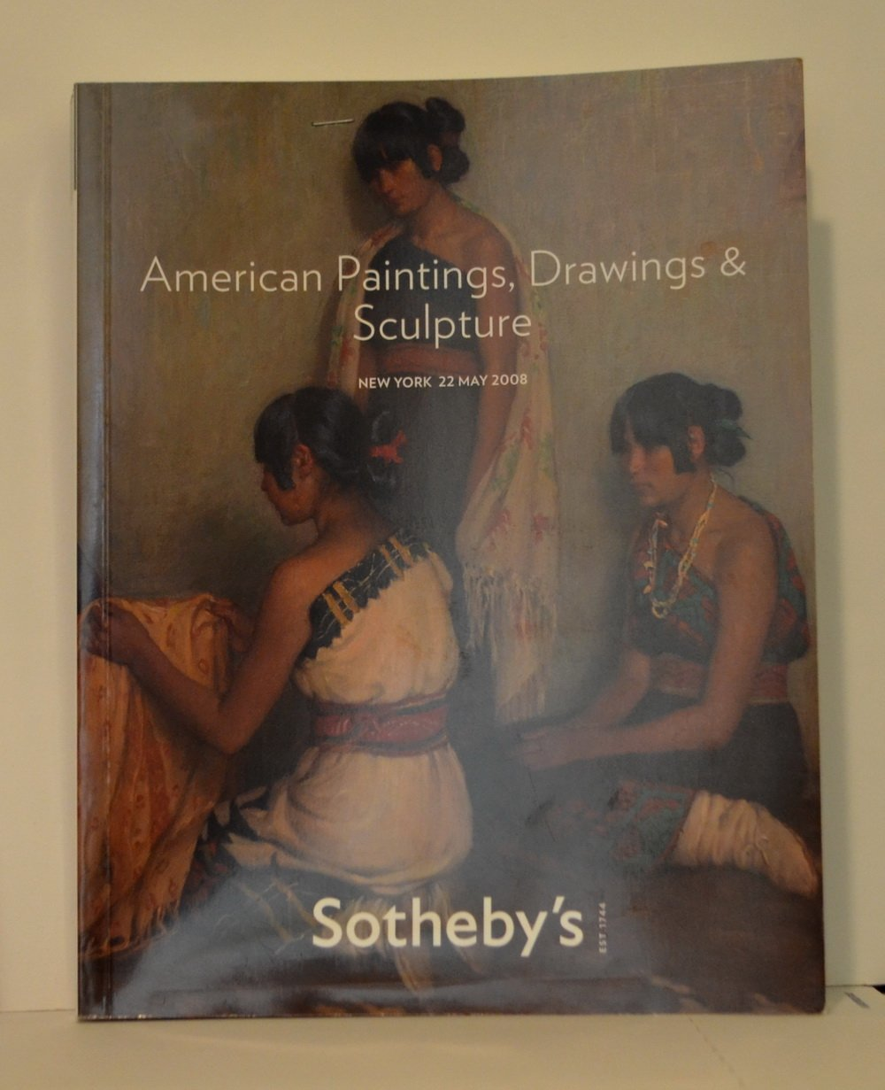b315 Sotheby's Auction / American Paintings, Drawings & Sculpture / New York 2008