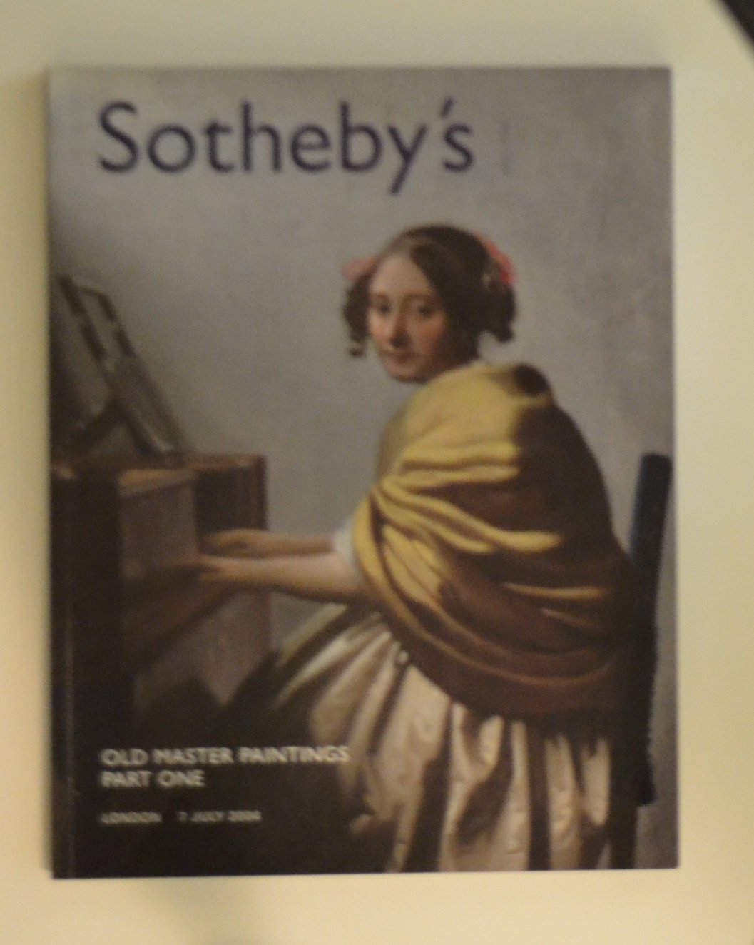 b307 Sotheby's Auction / Old Master Paintings, Part One / London 2004