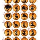"Wholesale Lot Party Set (24) 1.25 inch Pinback Button Badge Funny Cats 1¼"" Pins, Aprox. 32mm"
