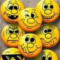 """Wholesale Lot Party Set (24) 1.25"""" Pinback Button Badge Smiley Faces #25-48 1¼"""" Pins, Aprox. 32mm"""