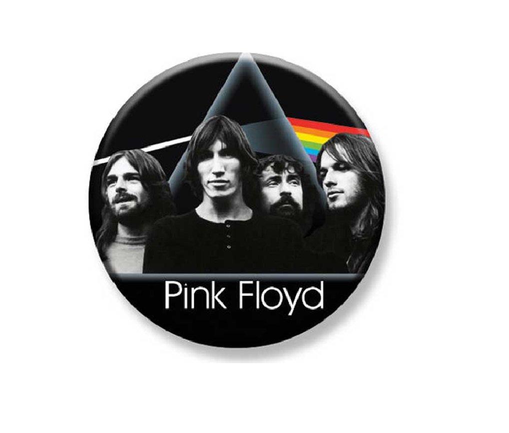 "1.25"" Pinback Button Badge Pink Floyd Dark Side Group 1 1/4"" Rd. Button 'Buy 2 Get 2 Free'"