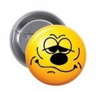"1.25"" Pinback Button Badge Emoji Smiley Face #5 'Buy 2 Get 2 Free'"