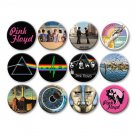 "Lot of 12 1.25"" Pinback Buttons Pink Floyd"