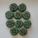 Lot of 10 Used Beer Bottle Cap Heineken Original No dents