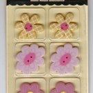 Making Memories Kids Buttons Bella Flower #439