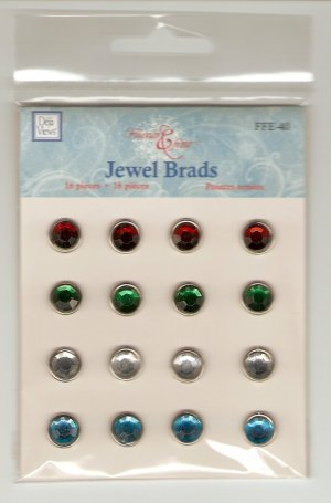 Deja Views Jewel Brads #664