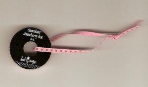 "Heidi Swapp 1/8"" Chocolate Strawberry Dot #421"