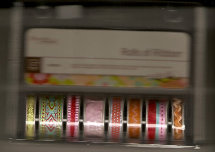 Basic Grey Rolls of Ribbon Gypsy #407
