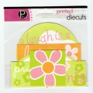 Pebbles Inc Printed Die Cuts Flower #562