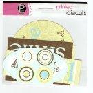 Pebbles Inc Printed Die Cuts Theodore #561