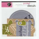 Pebbles Inc Printed Die Cuts Boys Only #563