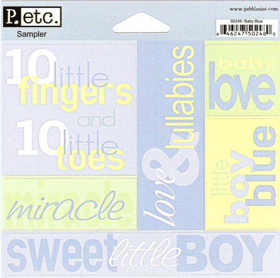 P Inc Sampler Baby Blue #104