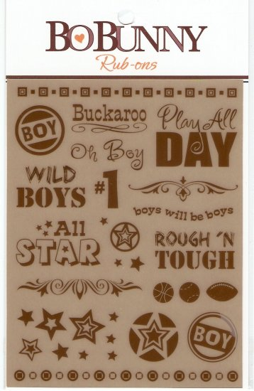 BoBunny Play All Day - Brown #119