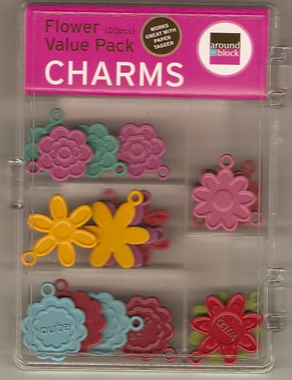 Around The Block Flower Value Pack Charms #673