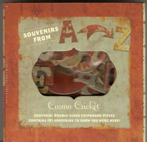 Cosmo Cricket Souvenir Chipboard #534