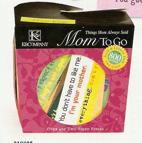 K & Company Mom To Go #559