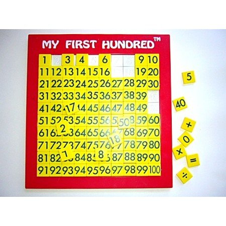 MY FIRST HUNDRED Educational Math Toy Manipulative