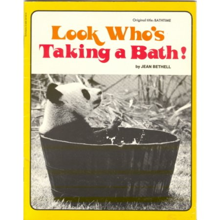 Look Who's Taking a Bath, J Bethell, Childrens Science