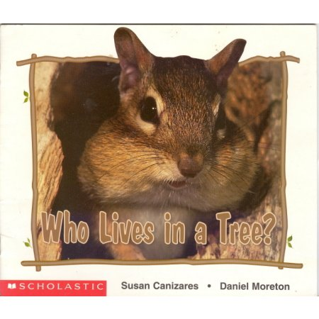 Who Lives In a Tree Early Reader Pre-school Science Book