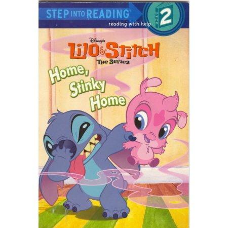 Lilo & Stitch, Home, Stinky Home Disney, Reader PreK-1  Book