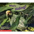 Who's Hiding? Pre-school Science Reader Educational  Book