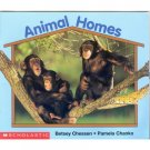 Animal Homes Early Reader Pre-school Science Reading Book