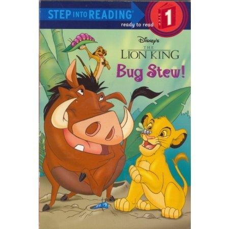 Bug Stew, Disney Lion King, Reader, PreSchool-K  Book