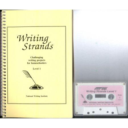 Writing Strands Level 1 Book & Tape Homeschool Teacher's Manual