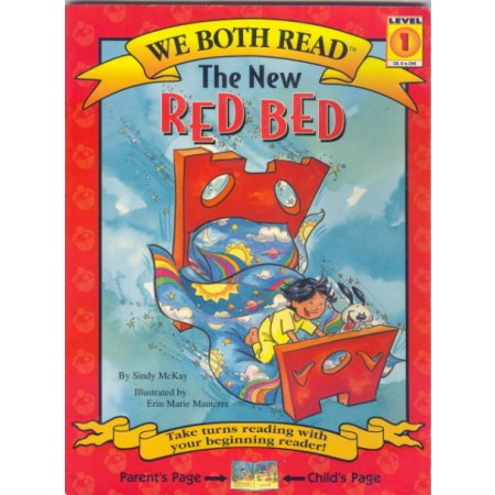 The New Red Bed, We Both Read Book Reader  Read Together Book