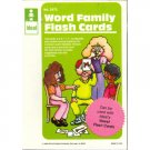 Word Family Flash Cards Phonics Educational Toy Reading