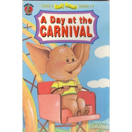Reader Grade 1-3 Day at the Carnival Rides Animals Book Children