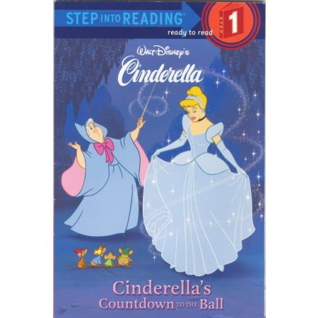 Cinderella Princess Countdown Preschool-Grade K Disney Book Children