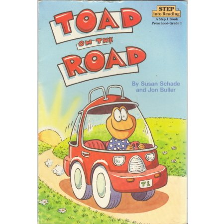 Rhyming Reader Preschool-Grade K Toad on the Road Childrens Book